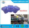 Tampões de parafuso do frasco do detergente de lavanderia de Dehuan/roxo/verde/tampões azuis dos PP da cor