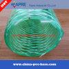 Mangueira reforçada da fibra do fio de aço do PVC