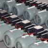 motor de CA doble monofásico de la inducción de los condensadores 0.37-3kw para el uso agrícola de la máquina, fabricante directo, existencias baratas