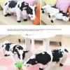 有機性綿のToys&のプラシ天猿のBell&Animalのプラシ天のおもちゃ