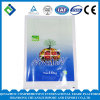 PET 25kg seitlicher Stützblech-Plastikbeutel für China-Entwurf