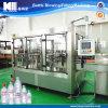 飲料水のびん詰めにする工場機械