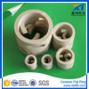 Resistencia al calor Ceramic Pall Ring Tower Packing