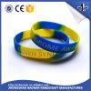 고품질 Debossed 다채로운 싼 가격 실리콘 Bracelt 또는 소맷동
