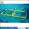 Auf Wasser-aufblasbares Volleyball-Gericht schwimmen, luftdichter aufblasbarer Volleyball-Bereich