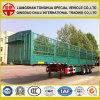 Estaca do armazenamento do transporte de carga do fabricante/da cerca caixa reboque de serviço público Semi