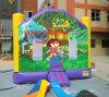 Bouncer inflável de Dora, castelo Bouncy inflável de Dora
