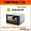 Dinar 2 7 reproductores de DVD androides del coche del Dual-Cargador 2.3/WINCE 4GB de la pulgada (DVB-T, GPS, 3G + WIFI)