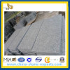 El granito verde claro barato de China flameó el azulejo (YQA-GT1024)