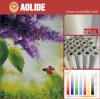 Papel auto-adhesivo brillante antirresbaladizo de los PP del alto grado (No-impermeable)