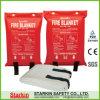 BSCI及びEn1869の高品質の火毛布1.2 x 1.2m