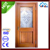 Puerta de madera del PVC del interior sólido de madera del hogar del hotel de Soncap del CE