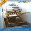Grand type levage hydraulique vertical de ciseaux de capacité de véhicule