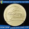 Monete molli di sicurezza del metallo dello smalto dei ricordi dell'oro su ordinazione del Matt