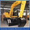 Excavador de rueda de compartimiento grande con precios chinos del excavador de 14 toneladas
