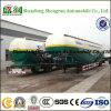 Tri caminhão de reboque do cimento do volume do eixo/caminhão de petroleiro do transporte Meterials do pó