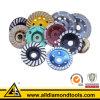Toutes sortes de roue de cuvette de diamant pour le granit de meulage