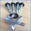 Винт собственной личности Hex головки Drilling с резиновый шайбой
