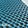 Im Freien Gummimatte/Entwässerung-Gummimatte/Gleitschutzfußboden-Matte