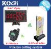 Sistema de llamada sin hilos con el reloj de Pager