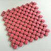 Anti-bateriana o vinil macio Uv-Resistente telha a cor-de-rosa molhada da antiguidade da esteira da área