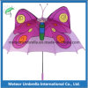 Gift promocional Fancy Butterfly Shape Catoon Kids Children Umbrella para Sun y Rain Use