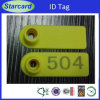 Sheep Ear Tag with PE Material in Yellow 52*18 Mm