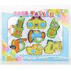 반지 교육 장난감을 출렁거리는 아기 음악 소통량 가르랑거리는 소리 플라스틱 선물
