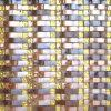 Mosaico de cristal de oro lujuriante del arte (VMW3657)