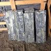 Impiallacciatura di pietra flessibile di marmo verde naturale in azione (SMC-SCP391)