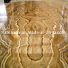 Honey giallo Stone Onyx Marble Tiles per Countertop, Slab