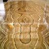 Желтые плитки мрамора Onyx камня меда для Countertop, сляба