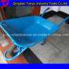 Wheelbarrow modelo ocidental Wb6400e de África com a roda do sólido 15X3