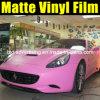 매트 분홍색 차 색깔 포장 스티커