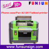 Impressora Flatbed UV pequena da caixa do telefone da impressora de Funsun com cabeça Dx5