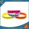 Wristband y pulsera multicolores de encargo de Siliocne