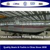 Barco de funcionamiento de aluminio usado de la pesca