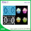 Emballage/natte chauds de lacet de silicone de la vente 3D