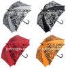 Зонтик гольфа печатание цветка 8 панелей прямой (YSGO0005)