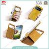 Caixa nova do telefone móvel do fólio da carteira da aleta para Samsung S4 I9500