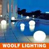 浮遊カラー変更のプールの装飾LEDの球の照明