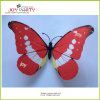 2016 Design novo Red Color 6 Inches 15cm Butterfly