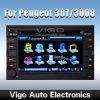 GCar DVD GPS navigation pour Peugeot 307 (bracelet 2002-2010 vieux)/3008 (2009-2011) (VPE6287) perles