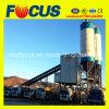 Hzs60 secam a planta de tratamento por lotes concreta com o misturador concreto do eixo gêmeo