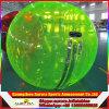 Bola de balanceo inflable del agua de los juegos del agua del verano, bola de Zorb del agua, bola que recorre del agua