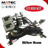 G5 Mini Slim Ballast 12V 35W H4 Bi Xenon HID Kit