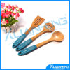 Kitchen en bambou Utensils Accessories Spoons Set de 3