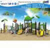 Corrediça plástica do campo de jogos ao ar livre das crianças do parque temático (HD-FY02301)