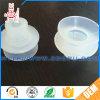 Copo rosqueado branco desobstruído da sução da borracha de silicone