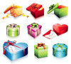 una variedad Gift Boxes
